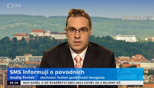 Ondřej Švrček: SMS informují o povodních