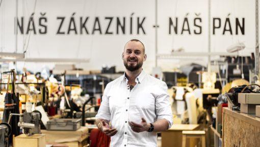 Michal Krčmář v Brašnářství Tlustý povede e-commerce, české výrobky chce dostat do celého světa