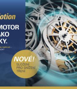 Nový OMV MaxxMotion Natural 100Plus snižuje tření v motoru